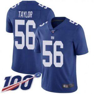 Giants Lawrence Taylor 100th Season Jersey